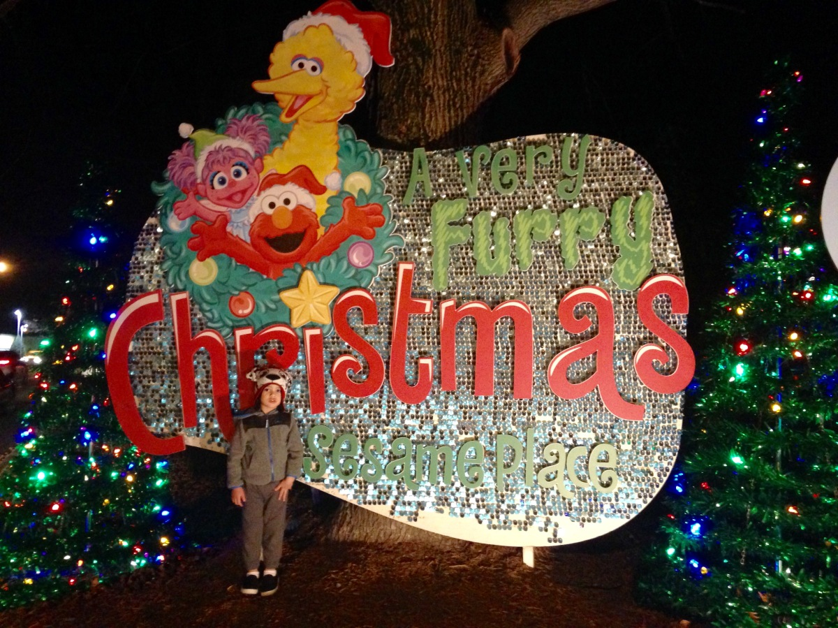 A Very Furry Christmas at Sesame Place